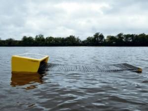 Primer prototipo del Seaswarn.