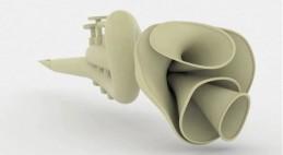 Concepto de trompeta multicanal