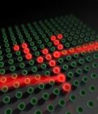 Controlando átomos individuales en un enrejado de luz