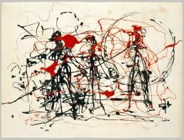 Sin titulo 1948-49, de Jackson Pollock