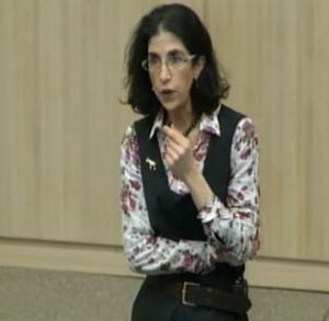 Fabiola Gianotto, del CERN