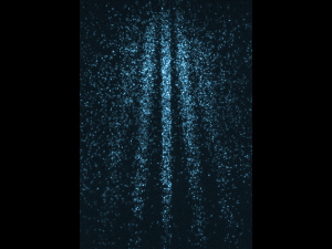 Patrón de interferencia cuántica a partir de moléculas phthalocyanine  (Crédito: Juffmann et al./Nature Nanotechnology)