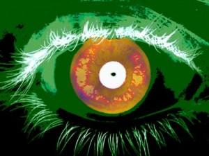 De acuerdo al reporte del NIST, el software que identifica a las personas basado en escaneo del iris, la parte coloreada del ojo que rodea a la pupila, puede producir resultados rápidos, pero esta velocidad va casi siempre a costa de la exactitud. (Crédito: Talbott/NIST)