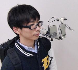 Robot de telepresencia MH-2 (Crédito: Yuichi Tsumaki, Fumiaki HOno, Taisuke Tsukuda/Yamagata University)