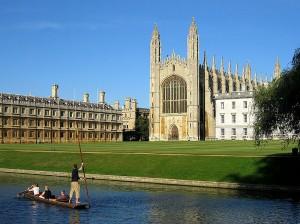 Universidad de Cambridge (Crédito: Andrew Dunn/Wikimedia Commons)