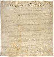 Constitución de los Estados Unidos de Norte América