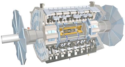 Experimento ATLAS (Crédito: CERN)
