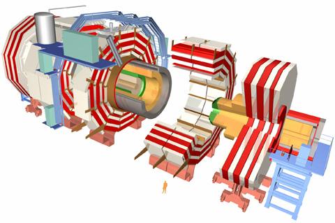 Experimento CMS (Crédito: CERN)