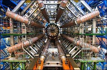 Detector ATLAS(crédito: Kaushik De, Brookhaven National Laboratory)