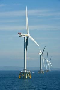 Granja de viento (crédito: Jan Oelker/Repower))
