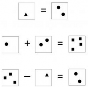 Ejemplos de tareas numéricas y aritméticas simples utilizadas en el estudio. Se les preguntó a los participantes si la operación numérica era correcta o no. (Crédito: Center for Vital Longevity, University of Texas at Dallas)
