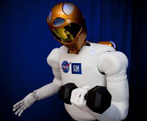 Robonaut 2 (crédito: NASA)