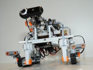 El robot LEGO (crédito: ESA)