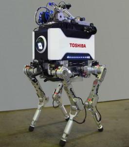 Tetrapod robot (crédito: Toshiba)