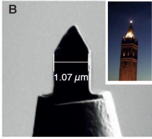 Nueva herramienta promete revolucionar las imágenes a nanoescala. El Camapanile, lado superior derecho en forma de torre de campana, de donde viene su nombre.  (Crédito: Lawrence Berkeley National Lab)