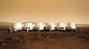Si todo va de acuerdo a lo planeado, los primeros astronautas de Mars One llegarán al Planeta Rojo en el 2023. (crédito: Mars One / Bryan Versteeg)