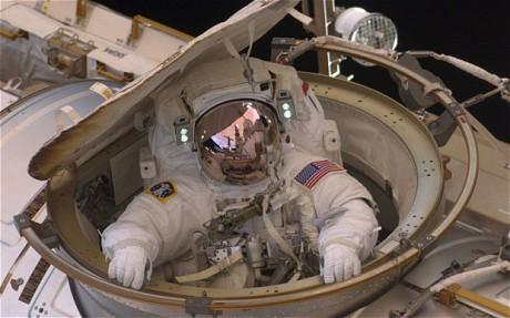 Este diseño de nave de la NASA no logra proteger completamente a los astronautas en un viaje de ida y vuelta a Marte. (crédito: NASA)