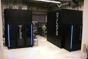 Computadoras de D-Wave One (crédito: D-Wave)