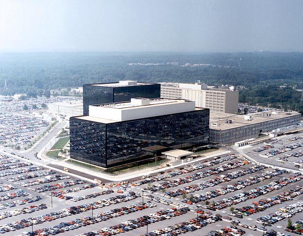 Instalaciones de la Agencia Nacional de Serguridad en Fort Meade, Maryland (Crédito: NSA)