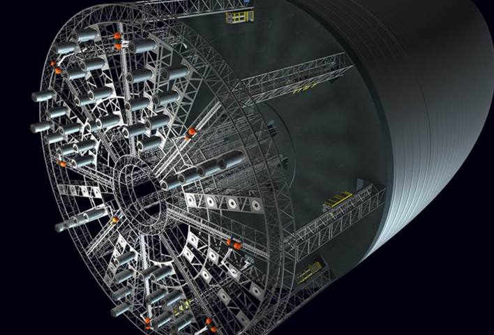 Concepto artístico de una fábrica gigantesco en el espacio (crédito: Anna Nesterova and John Strickland)