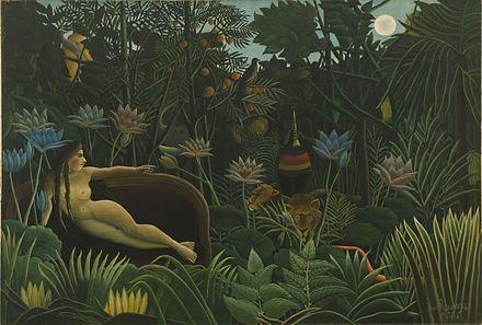 El Sueño, 1910 (crédito: Henri Rousseau/Museum of Modern Art)