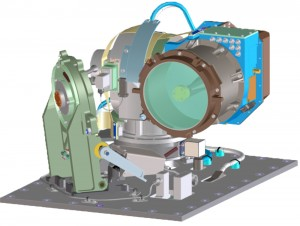 Módulo óptico LLCD  (crédito: NASA)
