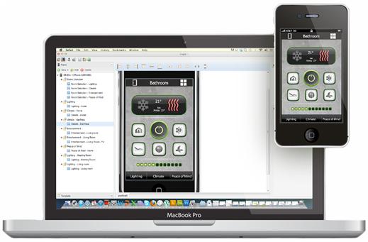 OpenRemote conecta y automatiza todo tipo de dispositivo. Puedes utilizar este software para diseñar un controlador personalizado de dispositivos. (crédito: OpenRemote)