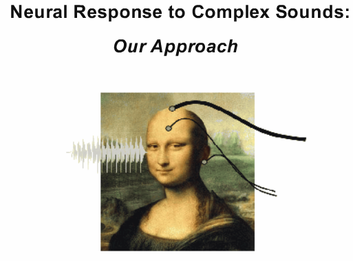 Para una demostración sobre como las ondas cerebrales suenan inquietantemente como los sonidos que escuchamos. (crédito: Auditory Neuroscience Laboratory)