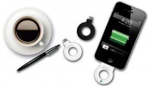 Powermat charge rings (credit: Starbucks)