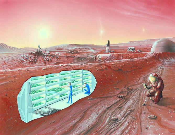 Cómo construir una colonia humana en otro planeta