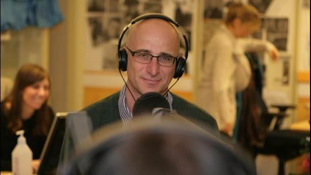 Profesor Ariel Goobar. Foto: Jonas Ekblom / SR