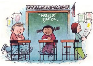 (crédito: Dave Clark/National Education Association)